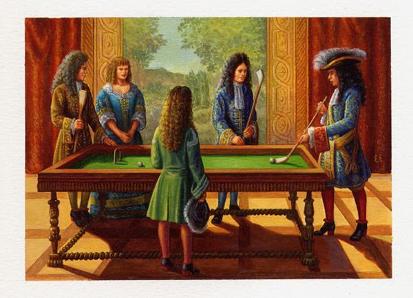 Billard sur table